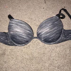 Victoria's Secret pink gray bra